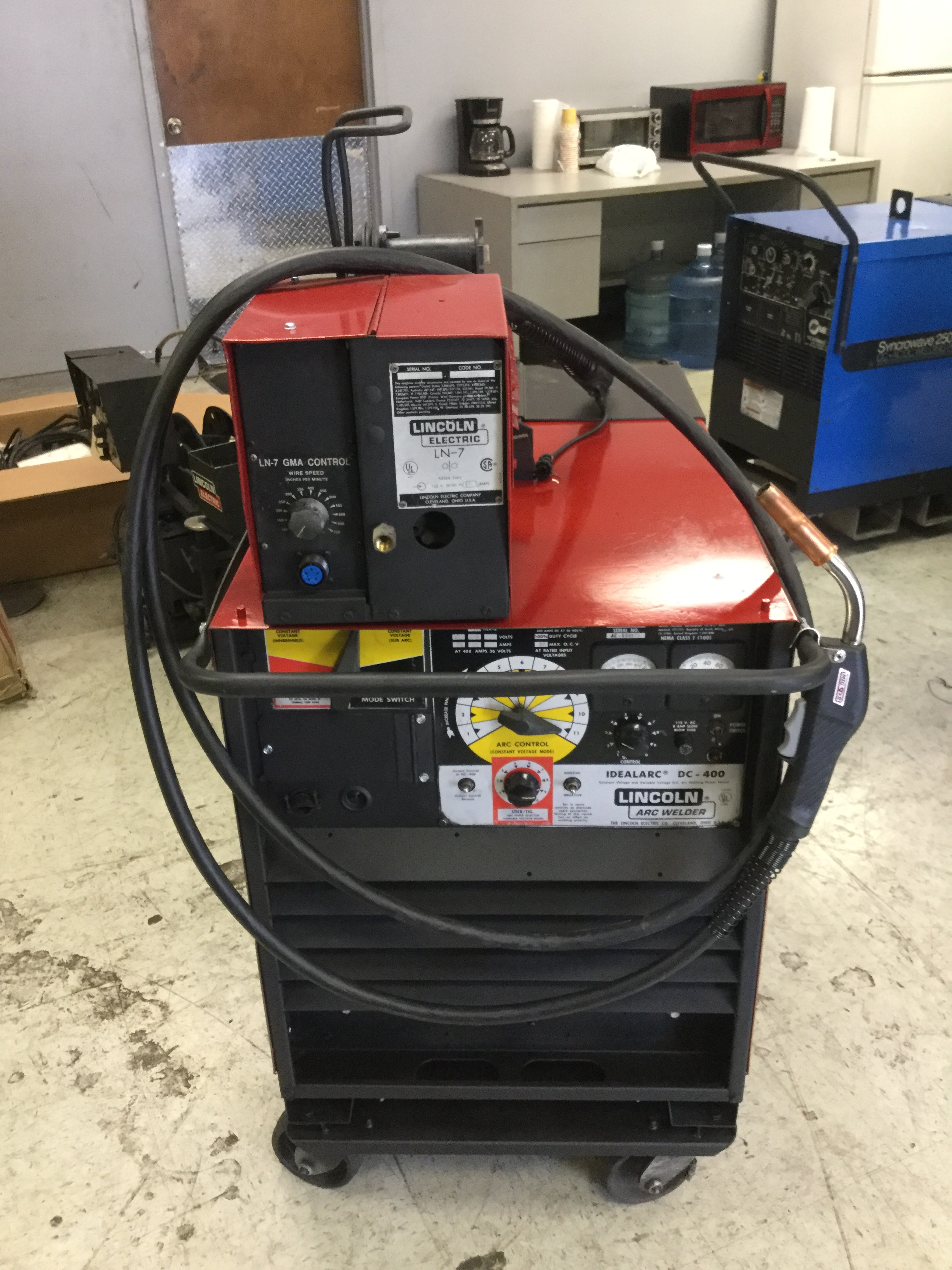 Lincoln Dc 400 Welder Cc Cv Multi Process Arc Heat Stick Idealarc Dc400